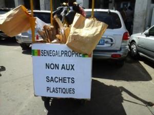 Lutte contre l'utilisation sachet plastique à Dakar 3