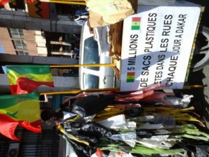 Lutte contre sachet plastique à Dakar 1
