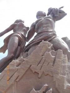 Monument de la Renaissance, Ouakam, Dakar