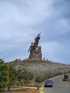Monument de la renaissance, Ouakam Dakar