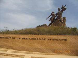 Monument de la renaissance, Ouakam Dakar (4)