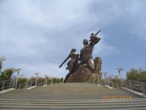 Monument de la renaissance, Ouakam Dakar (5)