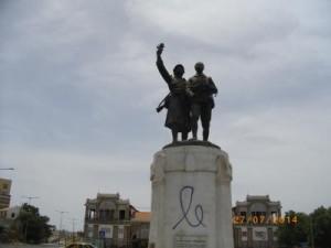 Monument en souvenir du tirailleur sénégalais
