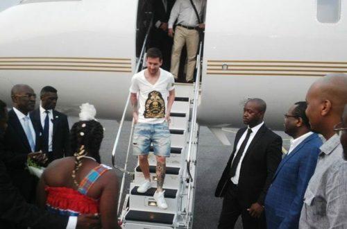 Article : Messi, nouveau président du Gabon fait sa première sortie officielle