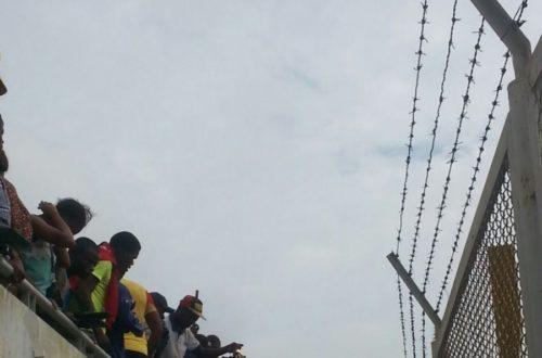 Article : Le football fait des morts au stade l'Amitié de Kouhounou à Cotonou.