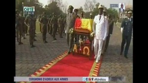 Enterrement du General Mathieu kerekou
