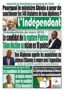 Le candidat de la Rupture Patrice talon fait du charme politique en dix points