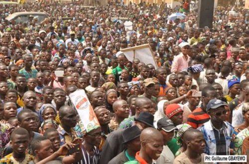 Article : Bénin: La campagne pour le second tour de l'élection présidentielle très moche.